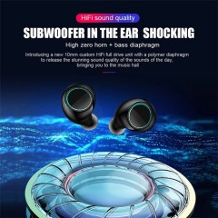 Waterproof Mini True Wireless Binaural Stereo Bluetooth Headset 5.0tws
